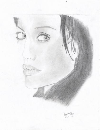 Angelina Jolie by Darin